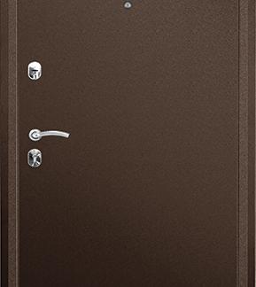 Металлическая дверь ПРАКТИК MDF