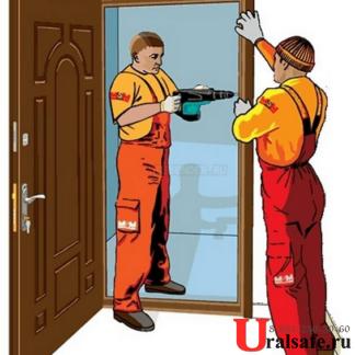Монтаж дверей от 1500 рублей